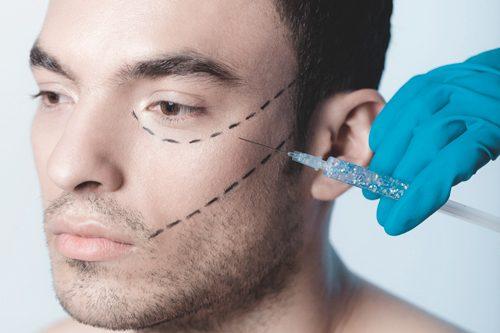 Mesoterapia facial hombre